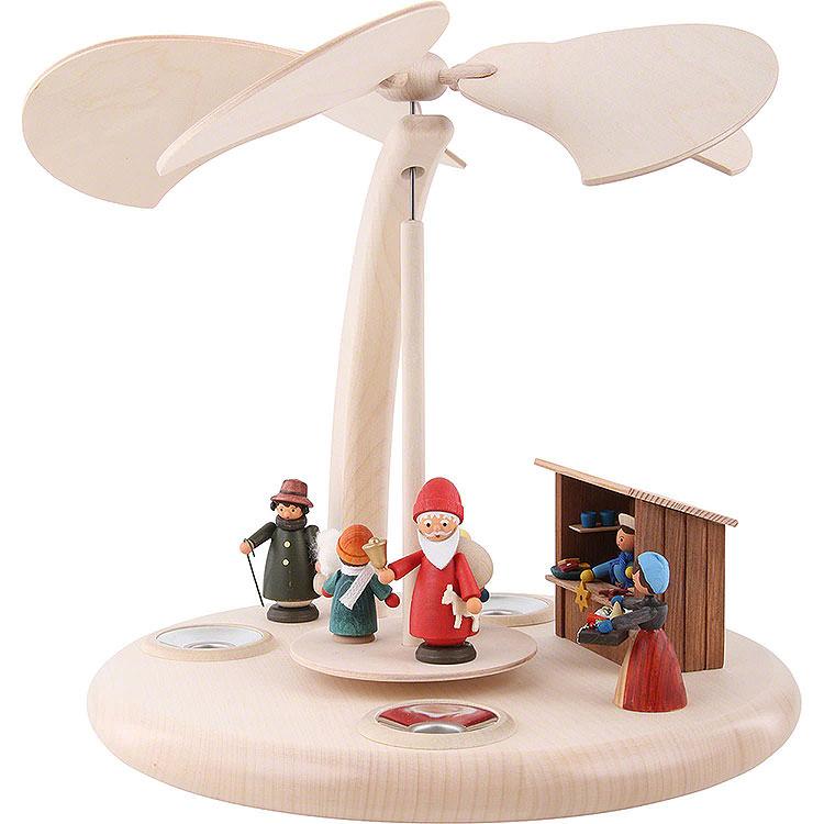 1 - Tier Pyramid  -  Christmas Fair  -  25cm / 10 inch