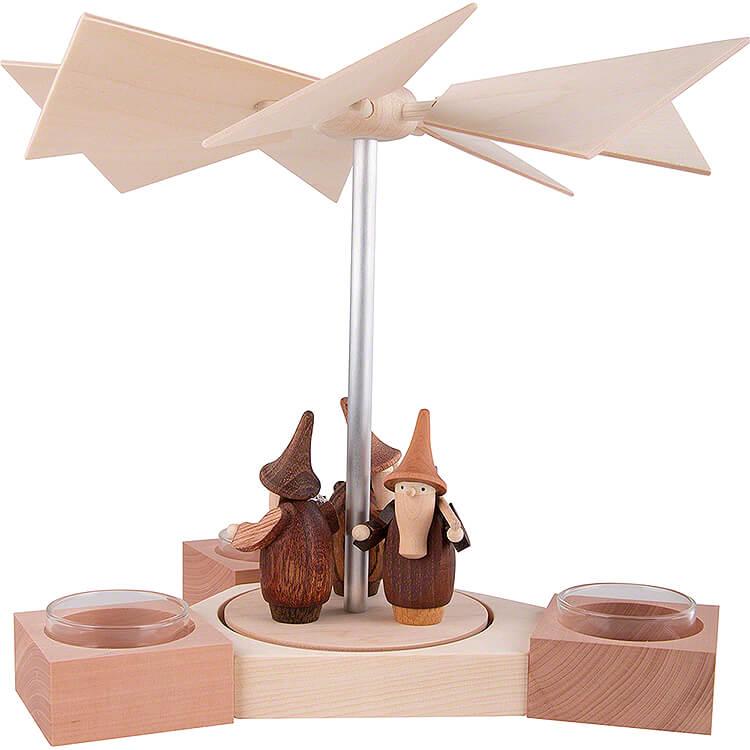 1 - Tier Pyramid Hexagonum Gnomes  -  20cm / 7.9 inch