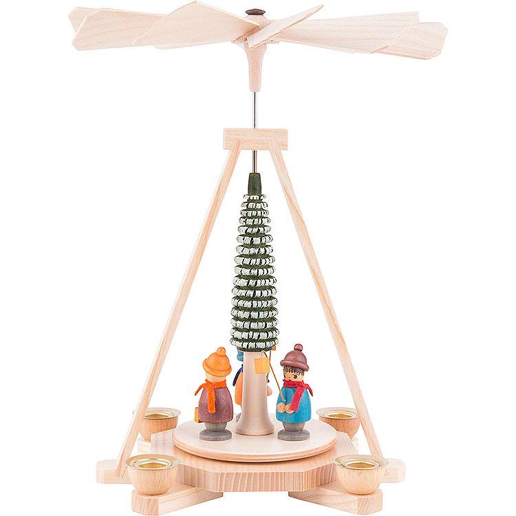 1 - Tier Pyramid  -  Lantern Children  -  23cm / 9 inch