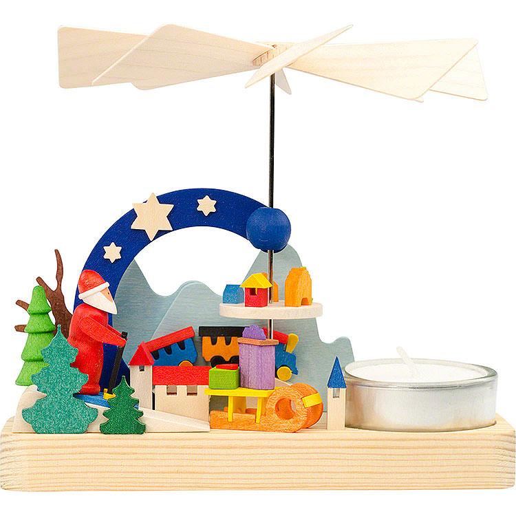 1 - Tier Pyramid  -  Santa Claus  -  12cm / 4.7 inch