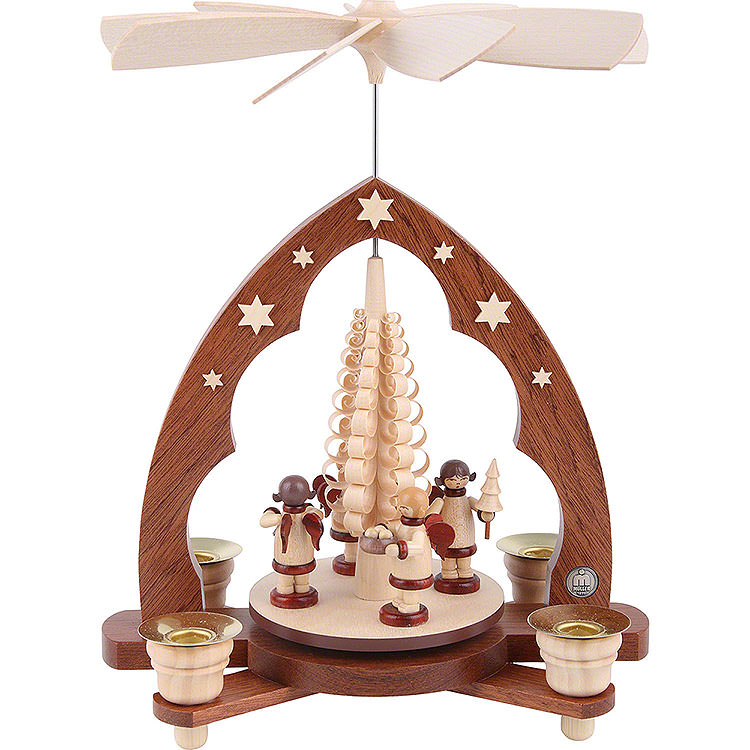 1 - stöckige Pyramide Geschenkengel  -  28cm