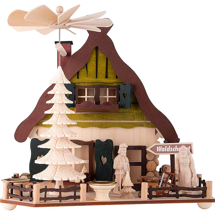 1 - stöckige Pyramide Holzmichls Haus  -  28cm