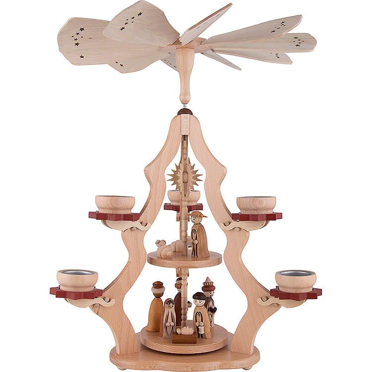2 - stöckige Pyramide Christi Geburt  -  47cm