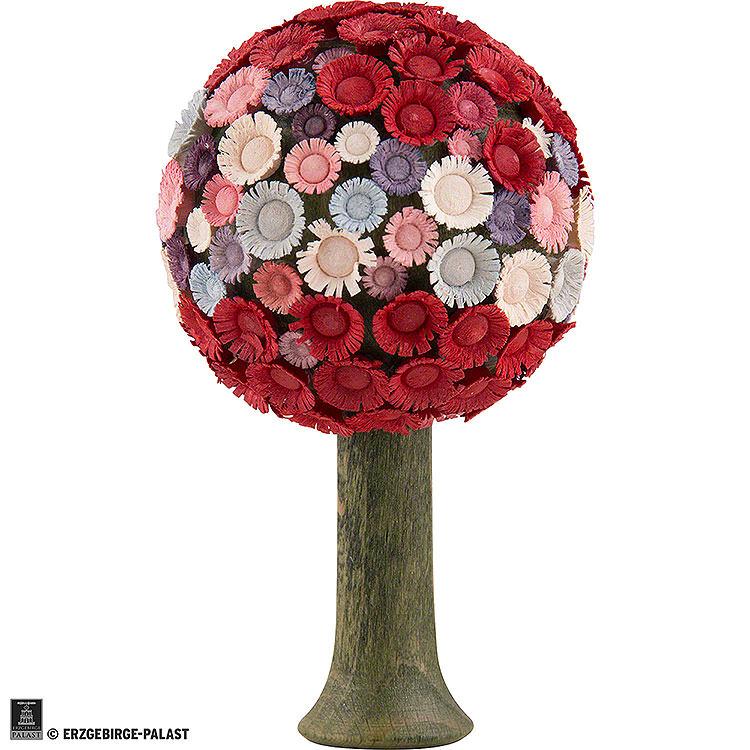 Blossom Tree Red/Pastel -  7,5x4,5cm / 3x1.8 inch