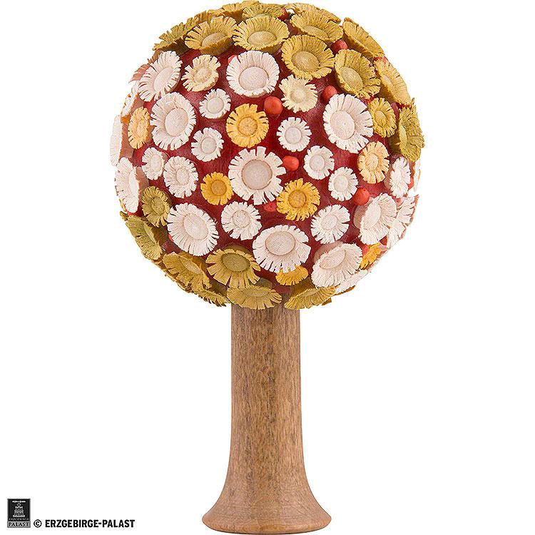 Blütenbaum bunt, H  -  7,5x4,5cm