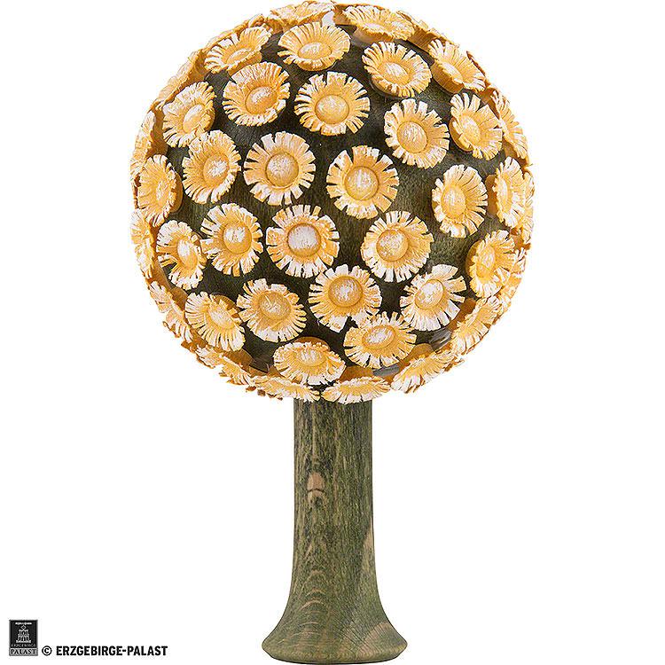 Blütenbaum gelb  -  8,5x5cm