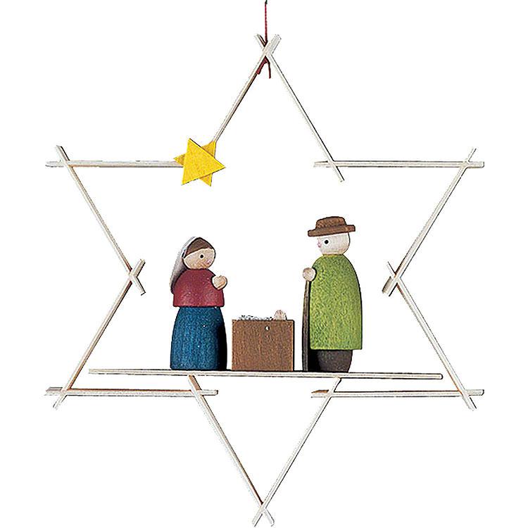 Christbaumschmuck Maria und Josef  -  9,5cm