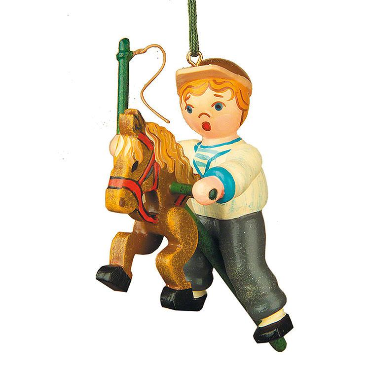 Christbaumschmuck Mein Steckenpferd  -  6,5cm