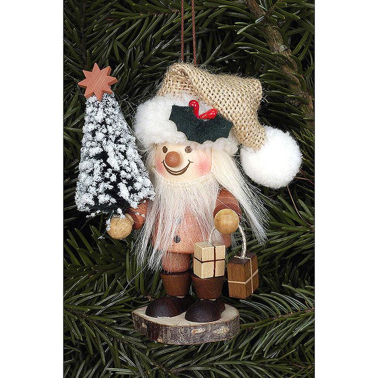 Christbaumschmuck Strolch Weihnachtsmann natur  -  10,5cm