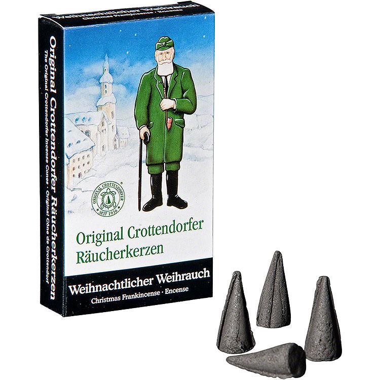 Crottendorfer Räucherkerzen  -  Weihnachtlicher Weihrauch