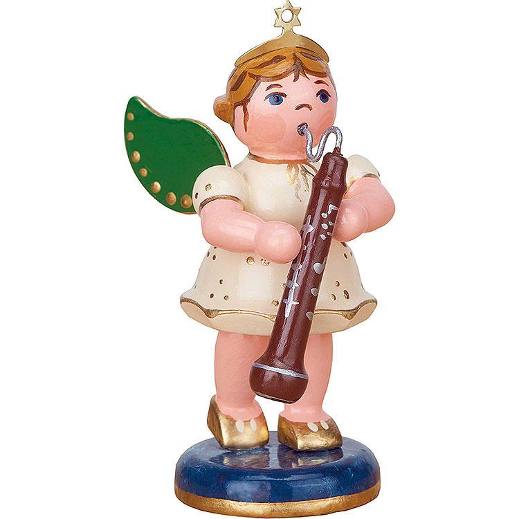 Engel mit Altoboe  -  6,5cm