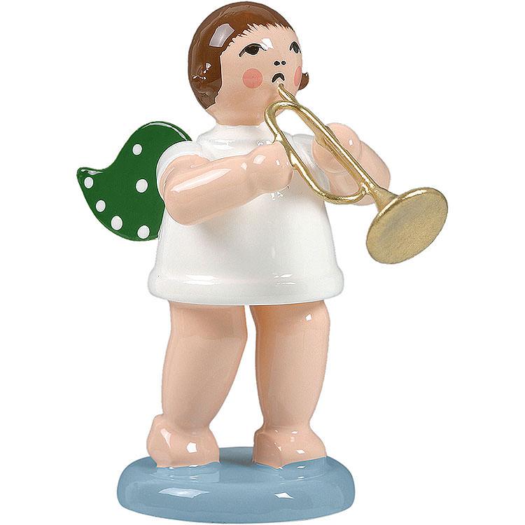 Engel mit Jazztrompete  -  6,5cm