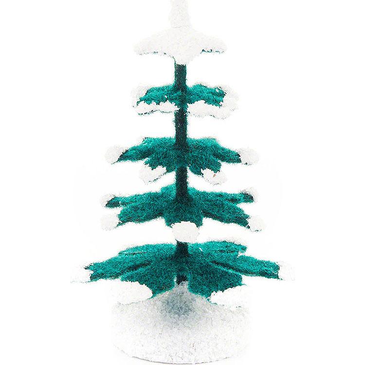 Fichte grün - weiß  -  6,5cm