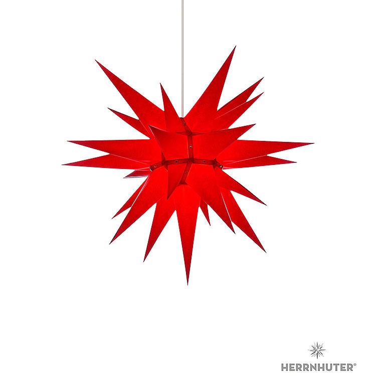 Herrnhuter Stern I6 rot Papier  -  60cm