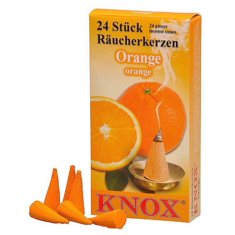 Knox Incense Cones  -  Orange