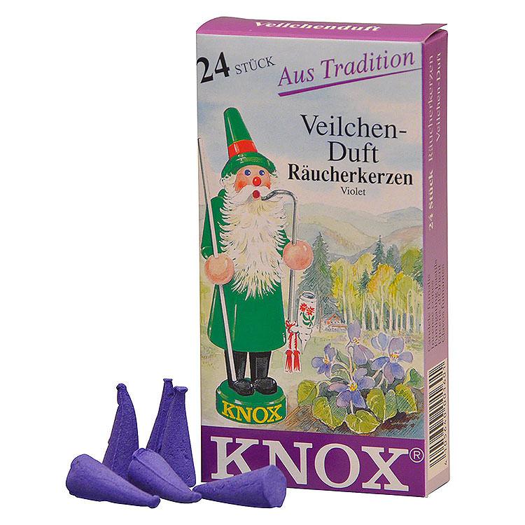 Knox Incense Cones  -  Violet