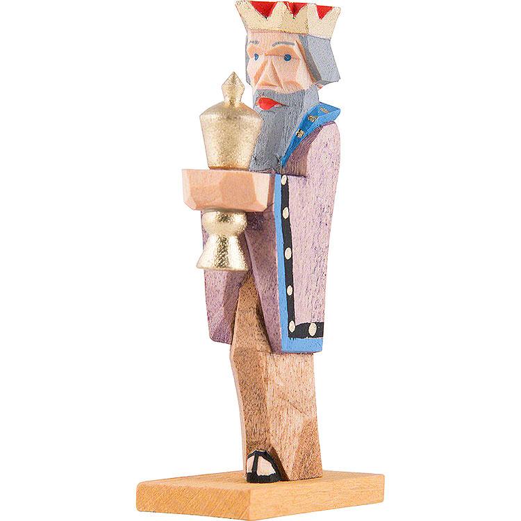 König mit blauem Kragen  -  6,5cm