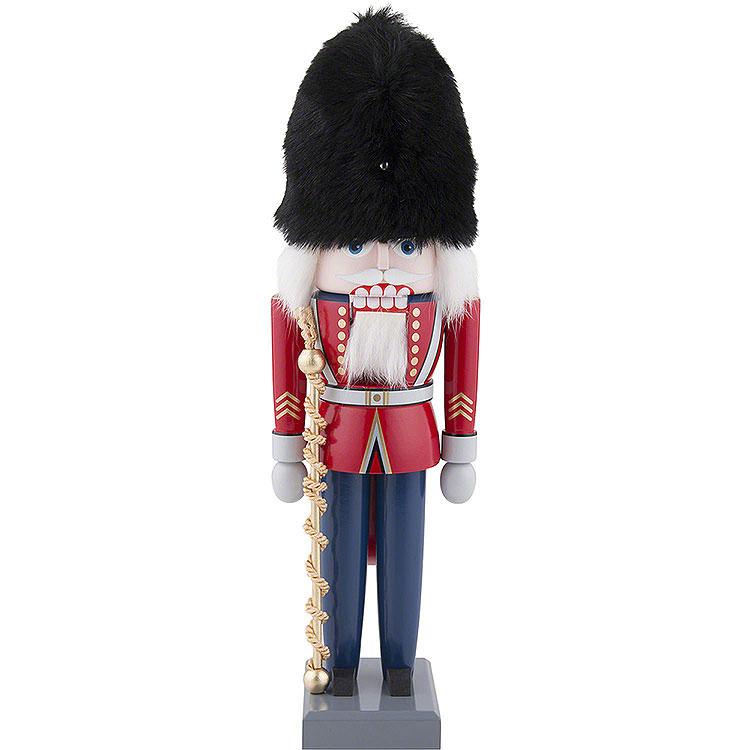 Nussknacker Britischer Tambourmajor  -  30cm