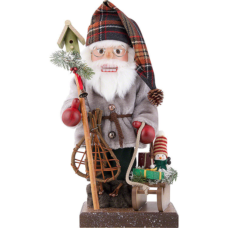 Nutcracker  -  Santa Claus with Sleigh  -  Limited  -  46,0cm / 18.1 inch