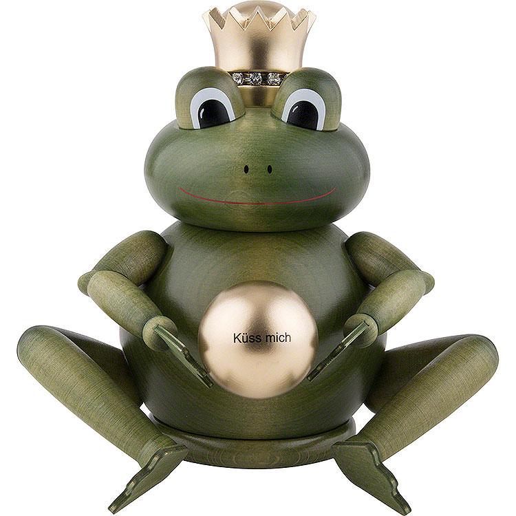 Räuchermännchen Froschkönig  -  16cm