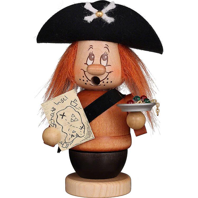Räuchermännchen Miniwichtel Pirat  -  14cm
