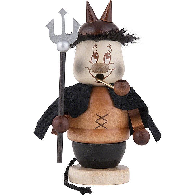 Räuchermännchen Miniwichtel Teufel  -  13,5cm