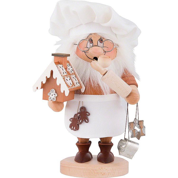 Räuchermännchen Wichtel Zuckerbäcker  -  28,5cm