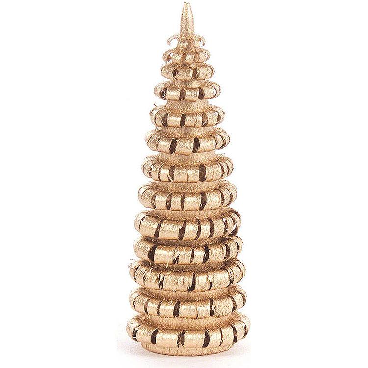 Ringelbäumchen ohne Stamm vergoldet  -  6cm