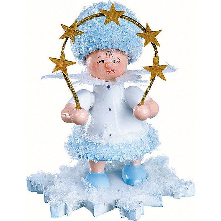 Schneeflöckchen mit Sternenbogen 5cm