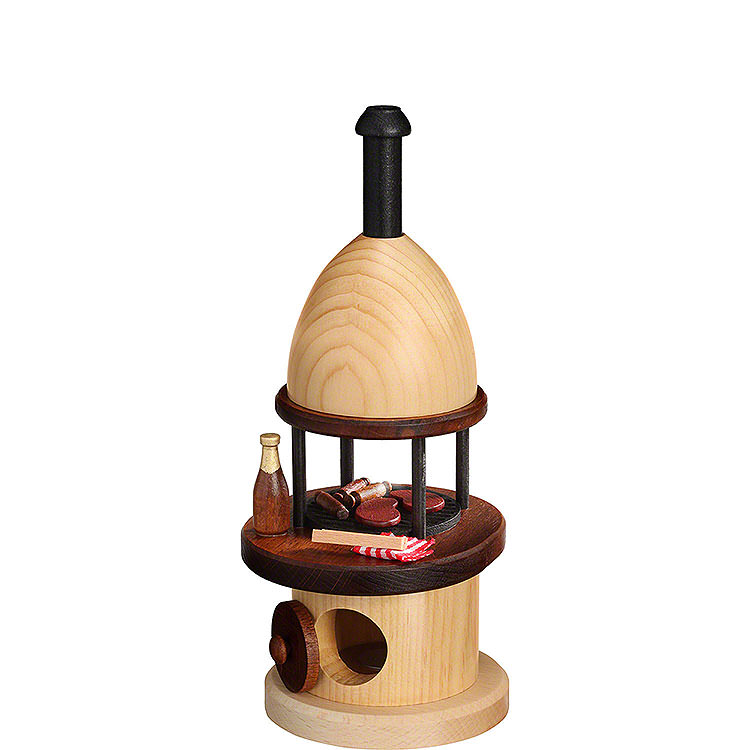 Smoker  -  Barbecue  -  22cm / 8.7 inch