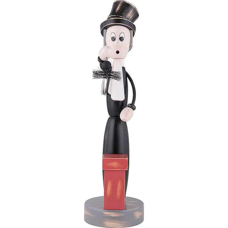 "Smoker  -  ""Shabby Chic""  -  Chimney Sweep  -  40cm / 15.7 inch"