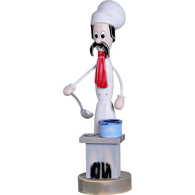 """Smoker  -  """"Shabby Chic"""" Cook with Stove  -  40cm / 15.7 inch"""