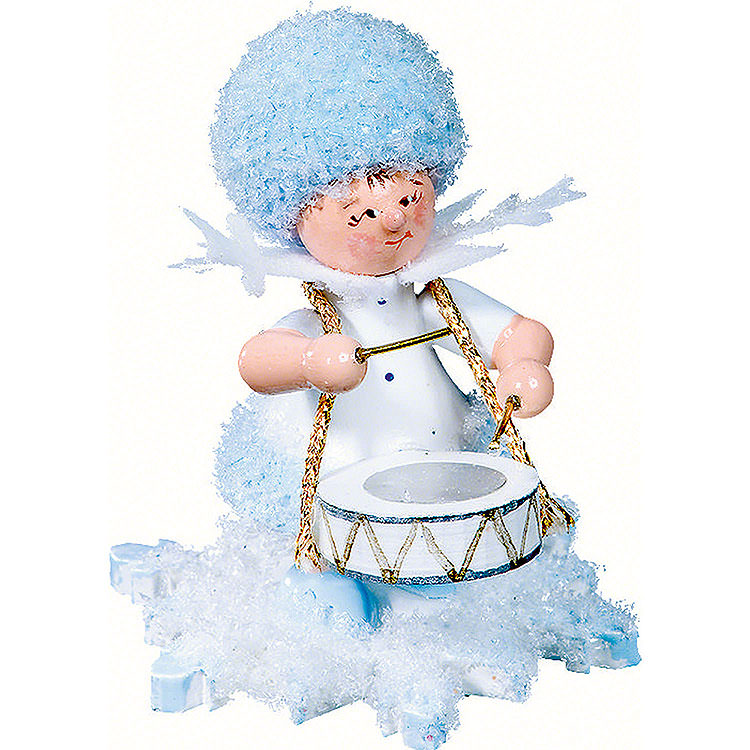Snowflake with Drums  -  5cm / 2 inch