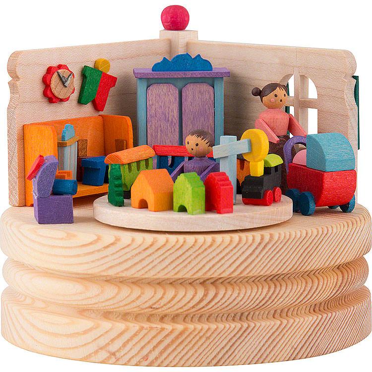 Spieldose Junge und Mädchen  -  8,5cm