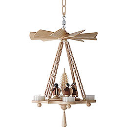 1 - Tier Hanging Pyramid Angel  -  30cm / 11.8 inch
