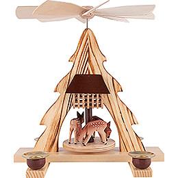1 - Tier Pyramid  -  Deer  -  21cm / 8.3 inch