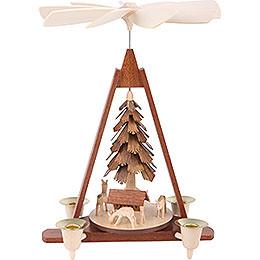 1 - Tier Pyramid  -  Deer  -  29cm / 11 inch