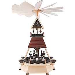 1 - Tier Pyramid  -  Miners  -  54cm / 21 inch