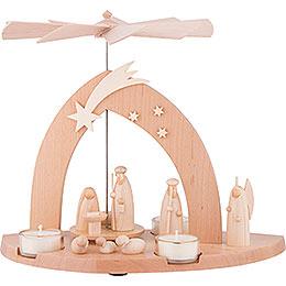1 - Tier Pyramid  -  Nativity  -  23cm / 9 inch