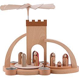 1 - stöckige Pyramide Christi Geburt  -  modern  -  33cm
