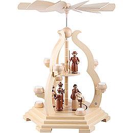 2 - stöckige Pyramide Bogendesign  -  65cm