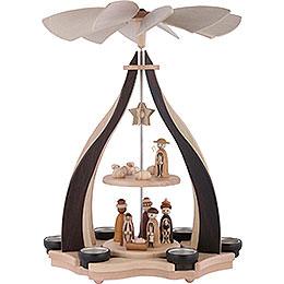 2 - stöckige Pyramide Christi Geburt  -  47,5cm