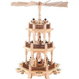 3 - Tier Pyramid  -  Christmas Time  -  45cm / 18 inch