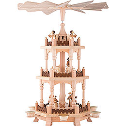 3 - Tier Pyramid  -  Christmas Time  -  45cm / 18 inch