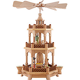 3 - Tier Pyramid  -  Nativity  -  42cm / 16.5 inch