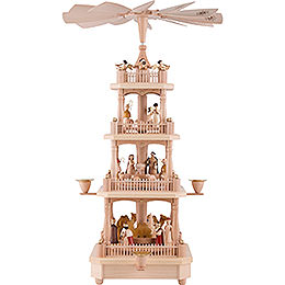 4 - Tier Pyramid  -  Nativity  -  45cm / 17.7 inch