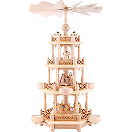 4 - Tier Pyramid  -  'Nativity'  -  55cm / 21.7 inch