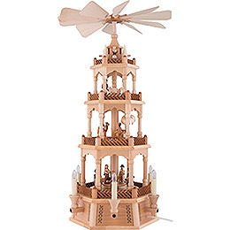 4 - stöckige Pyramide Christi Geburt  -  61cm