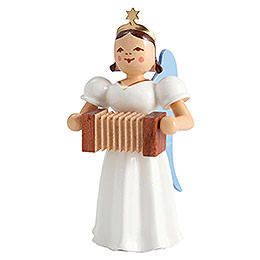 Angel Long Pleated Skirt Harmonica, Colored  -  6,6cm / 2.6 inch