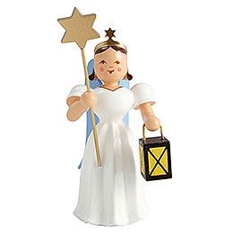 Angel Long Pleated Skirt Lantern / Star, Colored  -  6,6cm / 2.6 inch